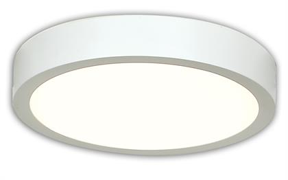SSL, 4 sizes available, round and square in Bronze, Silver, White finishes, damp location