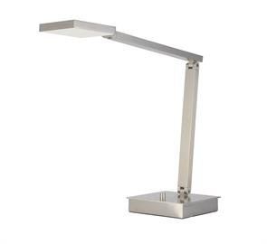This hip table top luminaire, is solid to the core and designed for the chic, contemporary, task minded user. Modern, geometric lines, the latest in LED technology and quality construction will stand up to the task at hand and meet the design elements demanded of this stand-out task light.