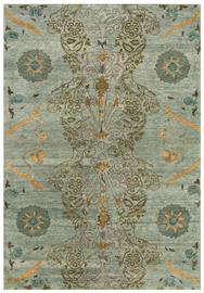 Embrace the beauty of the Vardo Collection, an enchanting collaboration between designer Tracy Porter's Poetic Wanderlust™ and Feizy Rugs®. Hand knotted of premium hand spun wool, each piece has been antique washed to create a soft hand and slightly distressed look. Transitional styling accented by small pops of vibrant color give these unique patterns a look that blends easily with today's upholstery trends.