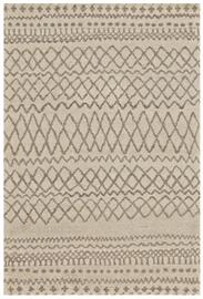 The Barbary Collection is inspired by the natural beauty of the traditional Beni Ourain rugs that hail from Morocco.  Plush, undyed wool is hand knotted into simple yet striking geometric-inspired designs that fit easily into casual transitional and contemporary settings alike.