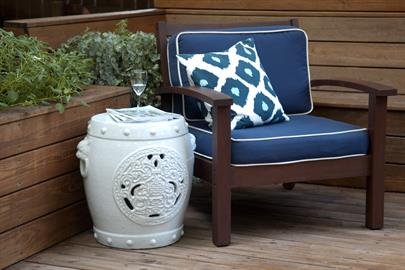 The iconic garden stool for indoors or out.