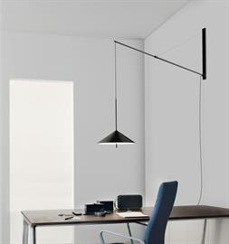 Fisher - Cantilever Wall Sconce and Pendant all LED