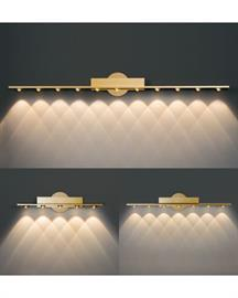 Bath/Wall Sconces in 5 light, 7 light & 11 light bath/wall sconce. All LED