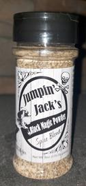 Two kinds of pepper make Black Magic Powder a flavorful all-around spice enhancing both meats and veggies