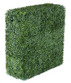 "Faux Boxwood Privacy Hedge - 130006 40""L x 10""W x 30""H"