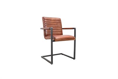 Simone Albani Sabina Leather Archair Cognac