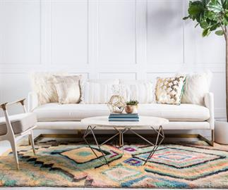 Bring any space to life with our Moroccan Collection.  A thick pile height, textured designs and explosive colorways makes it an easy favorite of many.  Directly sourced from Morocco, each piece is timeless and extraordinary in its own way.