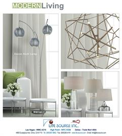 Deion collection from Lite Source has its new member with polished steel metal body and sophisticated grey shades. Being one of the bestsellers with the original look from Lite Source, Deion collection has never been better!
