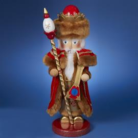Steinbach's Christmas Legends Series is inspired by Santa Claus figures from around the world, each with his own rich and distinct history and appearance. The 21st nutcracker in this beloved series celebrates Siberian Santa.