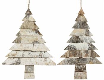 These birch slab trees can be used year round or for the holidays! Hang them, or set them against the wall. You'll be sure to receive compliments all year round!