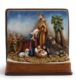 Wonderfully sculpted Napco Nativity Scene