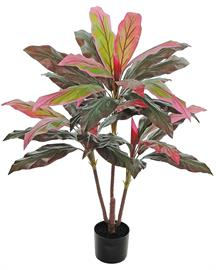 Add the beautiful colors of this showy plant without the upkeep of fresh!