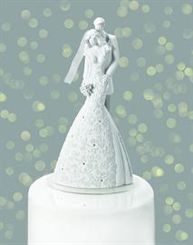 Roman's highly sought-after wedding line featuring unique, decorative cake toppers & gifts.