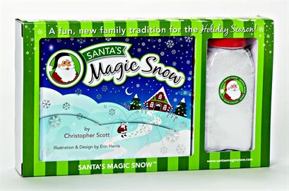 Start a new Holiday tradition with this exciting new product!  Kids will love to see Santa's footprints on Christmas morning!