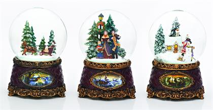 Our Glitterdomes® are magical fun for Christmas season!