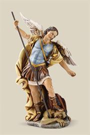 "The Joseph's Studio® Saints Collection is expertly sculpted and hand-painted by highly skilled artisans with rich coloring and detail. Figures are available in the following scales: 4"", 6"", 10"", 14"". Some figures are available in larger scales."