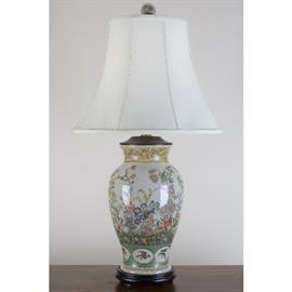 Wide selection design of porcelain lamps (shown here item # 13922-L)