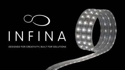 "An architectural grade, ultra-high output LED Flexible Lighting Strip – Hardwire or Plug & Play. 120 line voltage with smooth ELV dimming and even illumination. AC LEDs eliminate need for external drivers, removing weakest link in system for long operating life. Single electrical connection powers continuous 150' runs. Custom cut in 4"" increments. Lowers upfront, installation and maintenance costs. Ideal for lighting undercabinets, soffits, coves, displays, exhibits or showcases, as well as outdoor use."