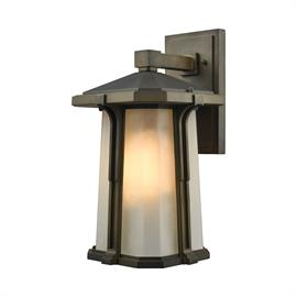 "87092/1_Finish: Smoked Bronze_Size: 9""w x 16""h_Bulb Type: Medium"