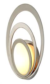 One light exterior sconce.