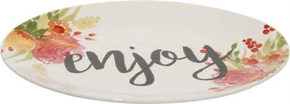 Transpac's beautiful Enjoy platter is great gift for many occasions. Look for coordinating pieces in The Country Market Collection!