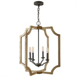 "This foyer fixture measures 25""W X 28.25""H (Product #530641SS)."