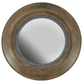 "This mirror measures 31.50""W X 31.50""H X 3.50""E (Product #730204MM)."