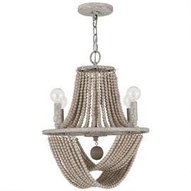 "This chandelier is part of the Kayla Collection and measures 15.25""W X 19""H (Product #429541MS)."