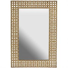 "This mirror measures 26""W X 40""H X 1.25""E (Product #730202MM)."
