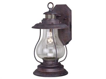 Whether literally at the dock or simply dreaming of the seaside, this iconic nautical-style lantern from the Dockside Collection illuminates the exterior of your home with brilliance and style. The weathered Patina finish feels both worn and new, with clear glass for a clear view. Mount these motion-sensor lights next to the front door or by the garage. As if that wasn't enough we've now added the Dualux® Outdoor Wall Light designed to fit your lifestyle and enhance the beauty, safety, and usability of yo