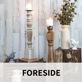 Bringing innovation from around the world, Foreside Home & Garden is a company filled with entrepreneurial spirit and drive. We focus on delivering carefully crafted artisan-inspired home and garden décor. Most recently we have added pillows and textiles rounding out the collections.