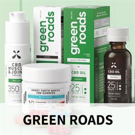 Green Roads is an award-winning CBD company dedicated to improving your physical and mental well-being. From our early days formulating products for friends and family to the thousands of five-star reviews we receive today, Green Roads is driven by our desire to help our customers live their best, and healthiest, lives. The Green Roads story is about an unshakeable friendship, a career-risking leap of faith, and a personal mission that still drives the company today. We carry tinctures, topicals, coffee a