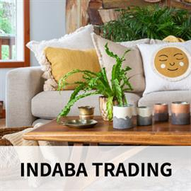 Indaba (n: gathering) draws from the philosophy that style and comfort should be a part of everyday living. We aim to rediscover an aesthetic quality found in craft traditions to create home and lifestyle products that inspire and delight.