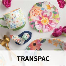 Gifts and decorative accessories with exceptional selection and value covering a wide range of product categories in garden, floral, and seasonal. With over 4000 products Transpac is an absolute market leader in selection and price in the gift industry.
