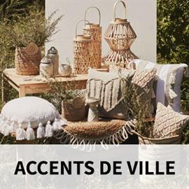 Accents de Ville, a division of The Pine Centre Ltd, is a designer, importer and distributor of decorative accessories, area rugs and household linens.
