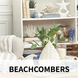 "Beachcombers is one of the leaders in the Gift and Souvenir Industries. You will find everything in our product mix from a ""name-dropped"" keychain to an exquisite glass sculpture, from a pub sign to a sarong, from tropical Christmas items to a shell windchime."