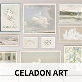 Celadon Art searches the world for inspiration to create for the furniture, gift and design trade. From our award-winning design studio comes a broad selection of clean and minimal, comfortable and natural or classic European elegance.