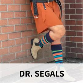 Developed by a top Canadian vein surgeon, Dr Segal's Energy Socks revolutionize your work, leisure and travel. Ultra-soft with natural breathability, our next generation products are designed for maximum comfort and to increase your health and wellbeing. These are not your grandma's compression stockings!