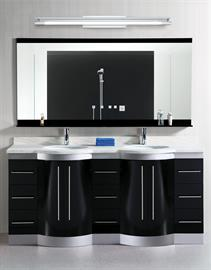 "Contemporary LED bath family in 24"", 36"" or 48"" OAL.  Polished Chrome finish."