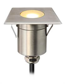 1 or 3W LED outdoor wet location rated step light.  Stainless Steel.