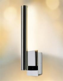 18W LED wall sconce.  Mount up or down, Satin Nickel or Polished Nickel.
