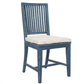 Indestructability of wood in three great finishes defines this durable seating.  Each comes with a coordinating seat cushion.